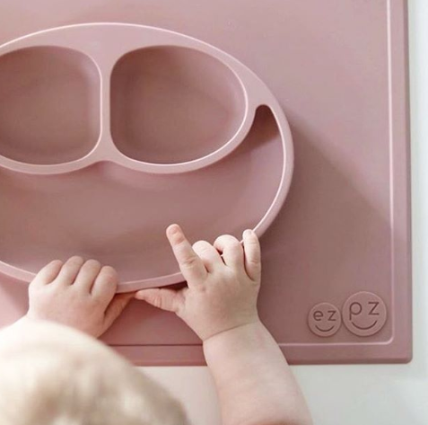 ezpz roze bord groot