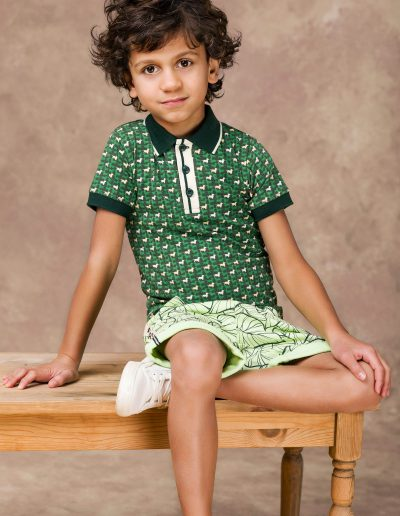 4ff shirt groen