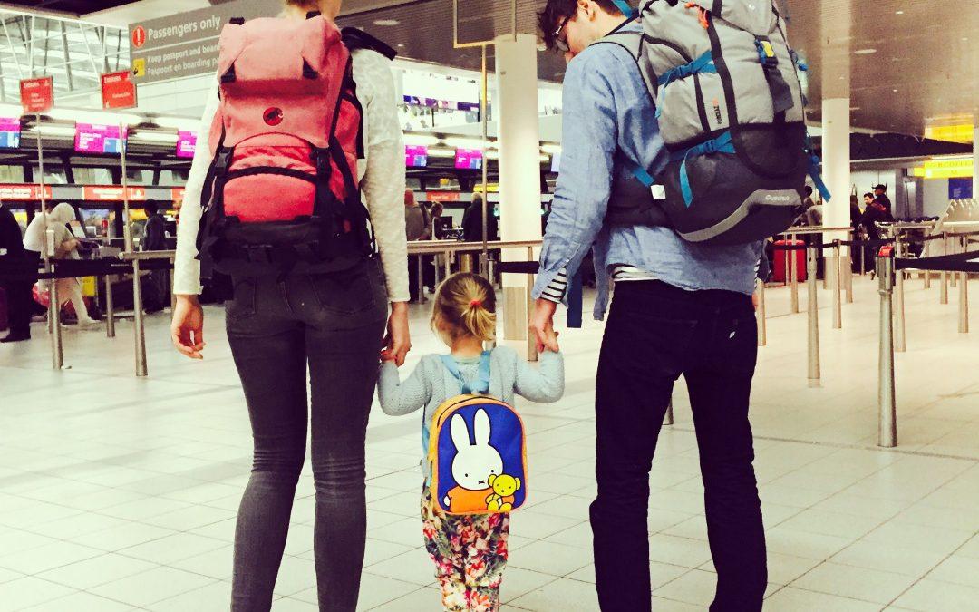 Ik ga backpacken en neem mee: een kind!