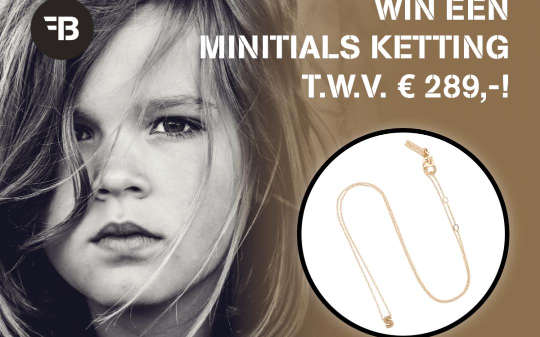 Winactie: win een Minitials ketting twv 289 euro