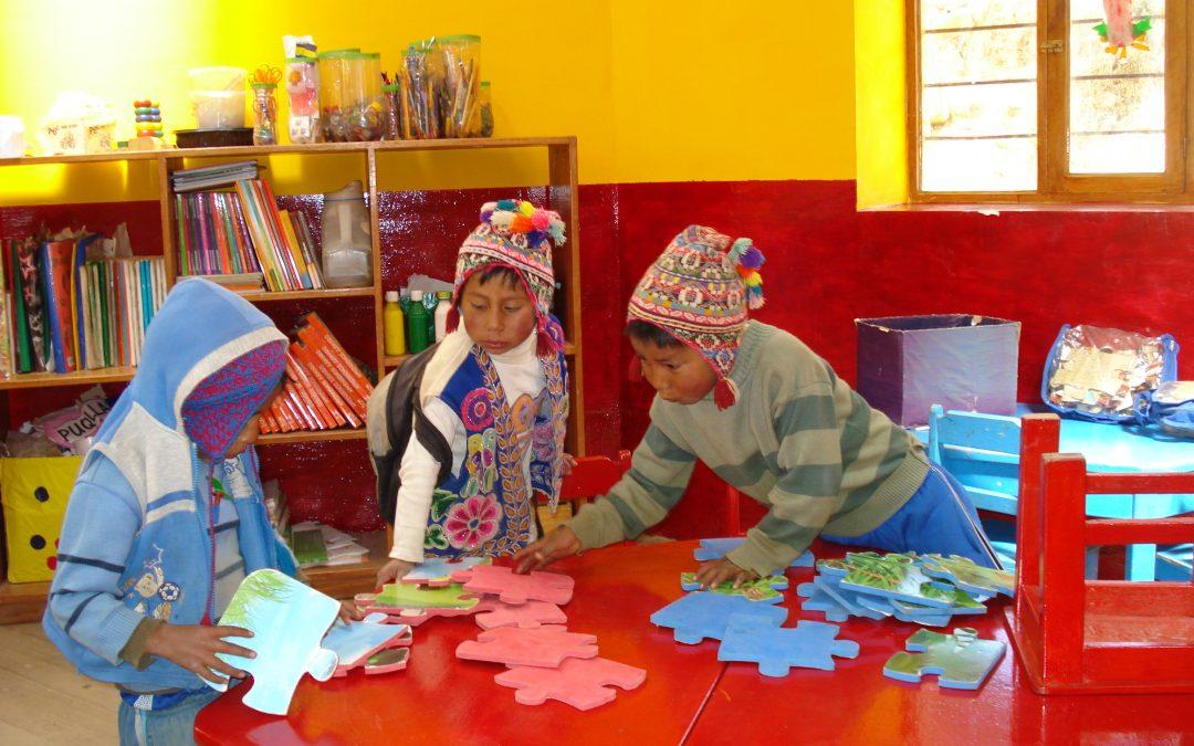 Anja Rosier op bezoek bij Stichting HoPe in Peru