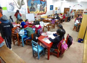 villa maria klaslokaal